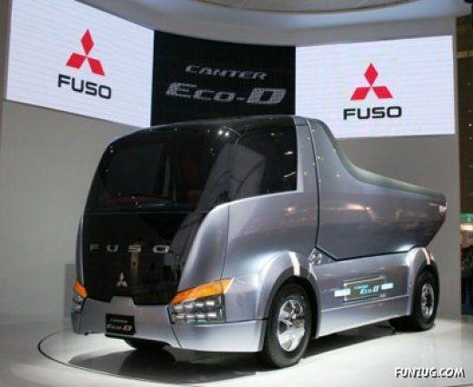 Truck of Future: Mitsubishi's Fuso