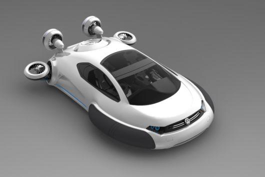 Innovative Volkswagen Aqua Supercar