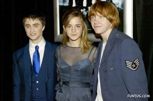 Harry Potter Stars - Then And Now
