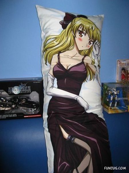 Huge Crazy Pillows From Japan