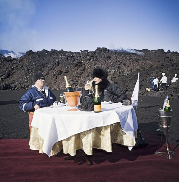 Ready For A Volcano Lunch?