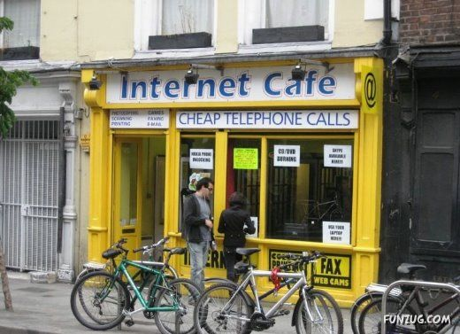 Cyber Cafes Across the World