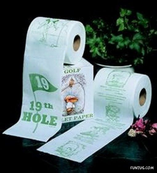 Strange and Funny Toilet Papers