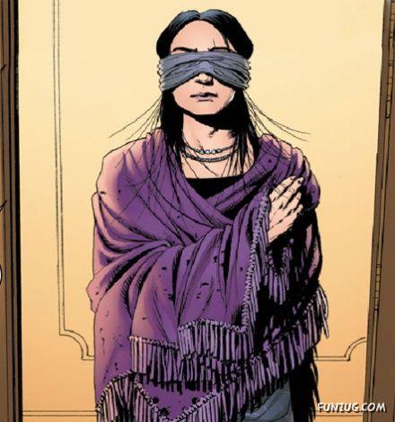 A Blind Girl