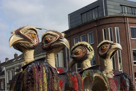 Fruitcorso Festival in Netherlands