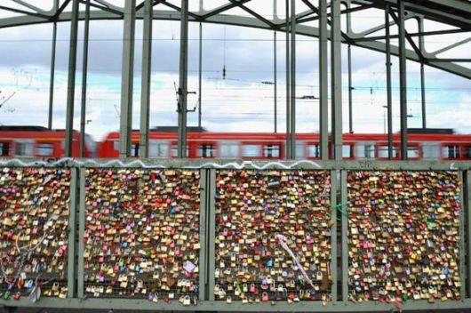 Hohenzollernbruecke Bridge - The Bridge of Love