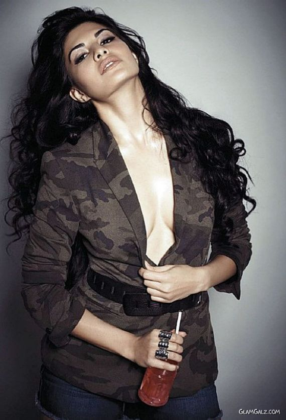 Spicy Jacqueline Fernandez For FHM India