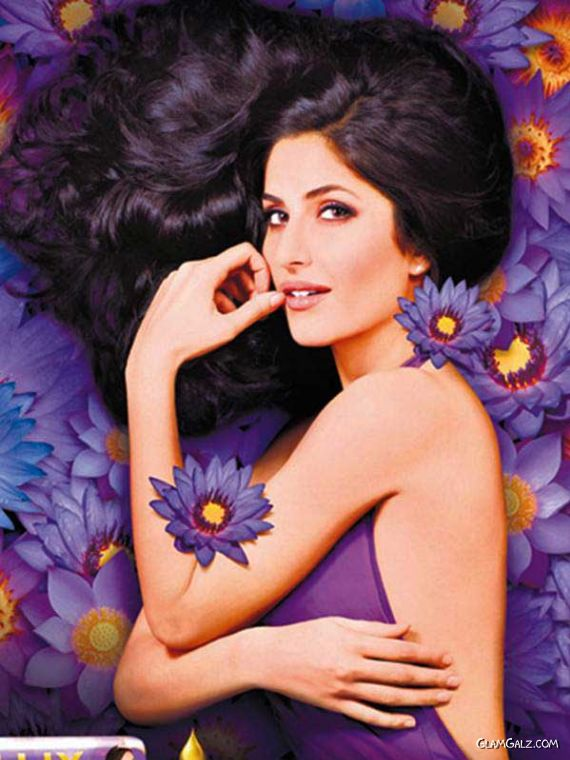 Katrina Kaif for Lux Purple