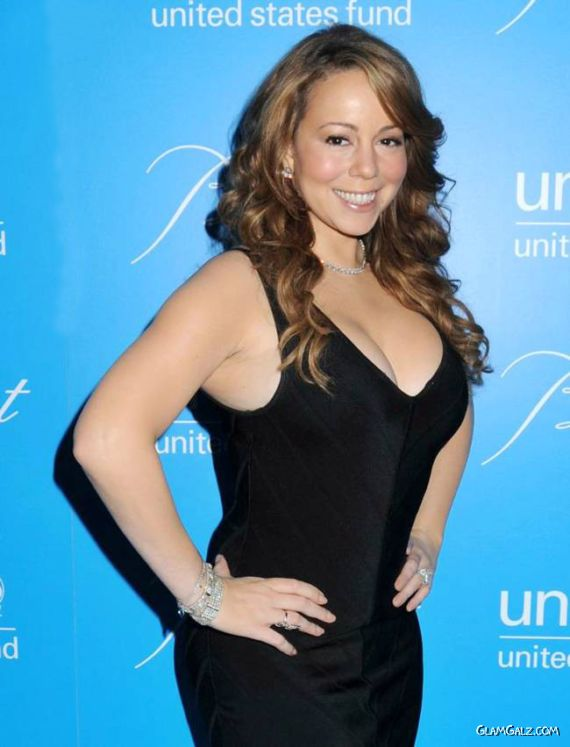 Mariah Carey At The UNICEF Event