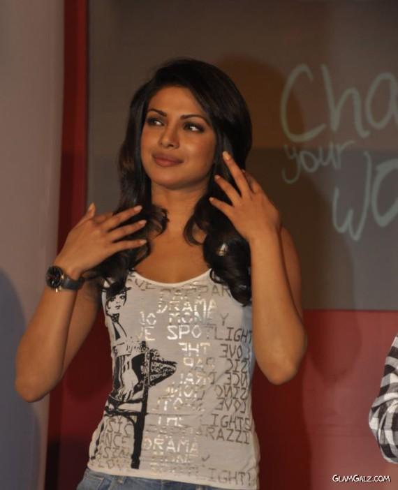 Priyanka Chopra for Levis Campaign