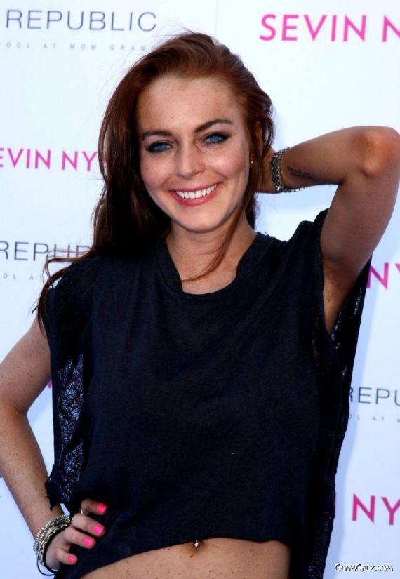 Lindsay Lohan Birthday Bash