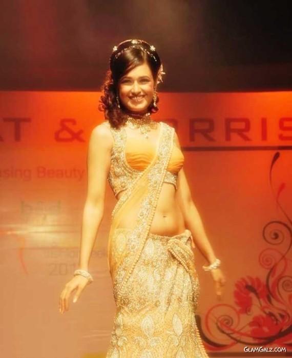 Actress Yuvika Chaudhary at the Ramp