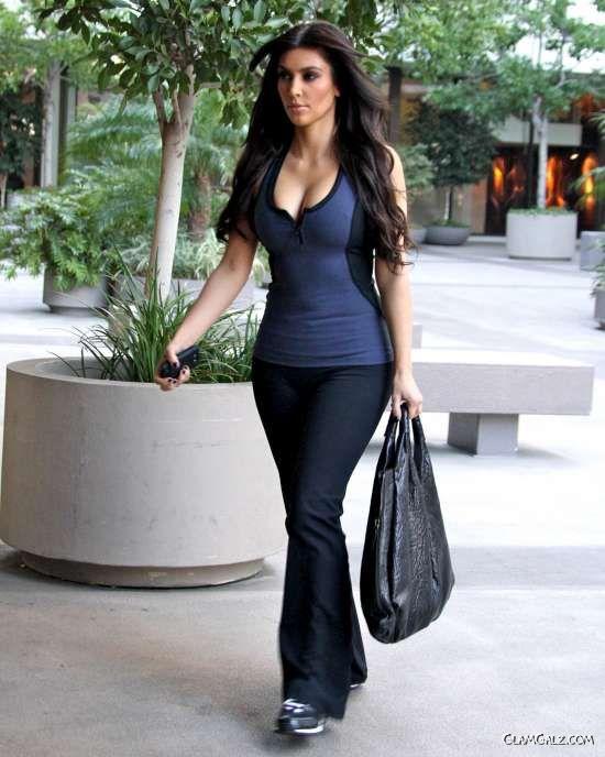 Miss Kardashian in Beverly Hills