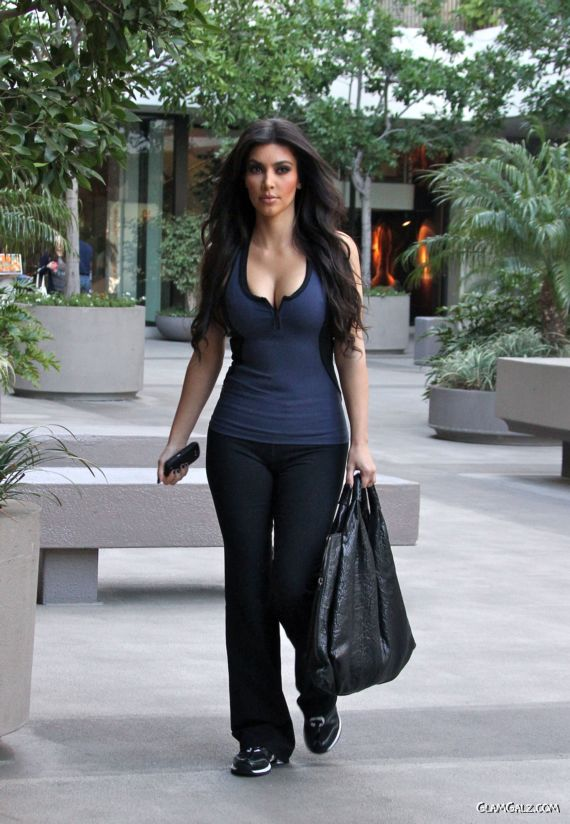 Miss Kardashian in Beverly Hills