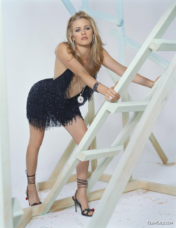 Alicia Silverstone for Isabel Snyder Shoot