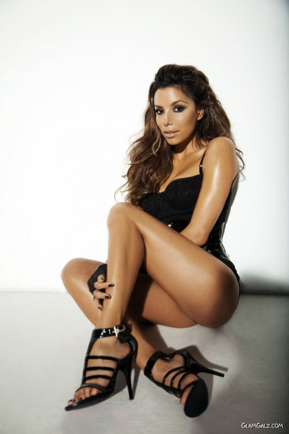 Gorgeous Eva Longoria Heating Up GQ Pages