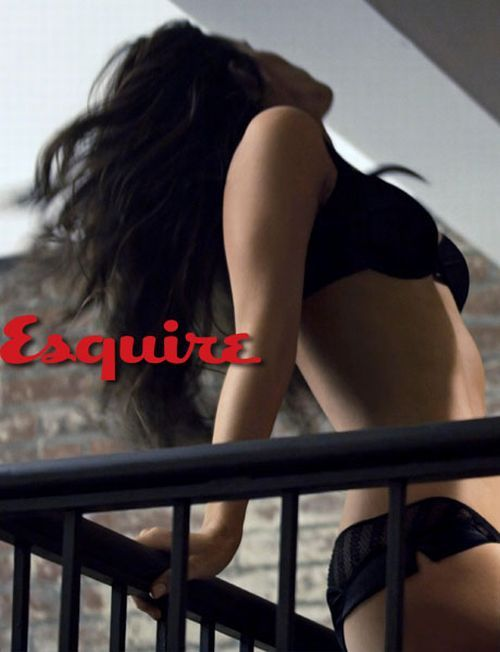 Kate Beckinsale Heating Up Esquire