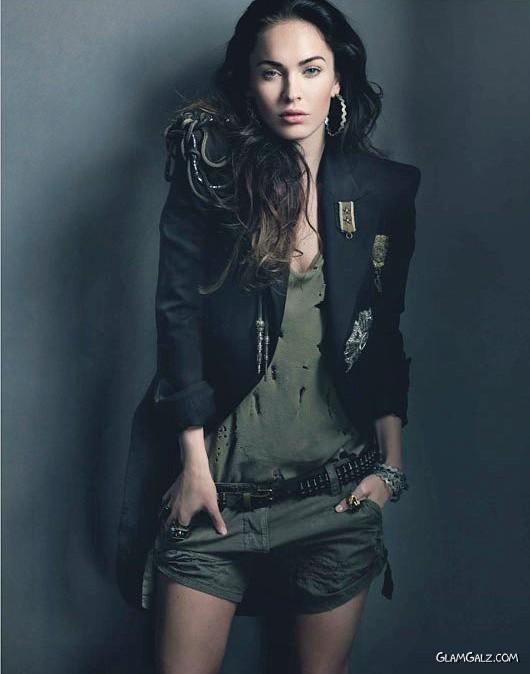 Megan Fox W Magazine Shoot