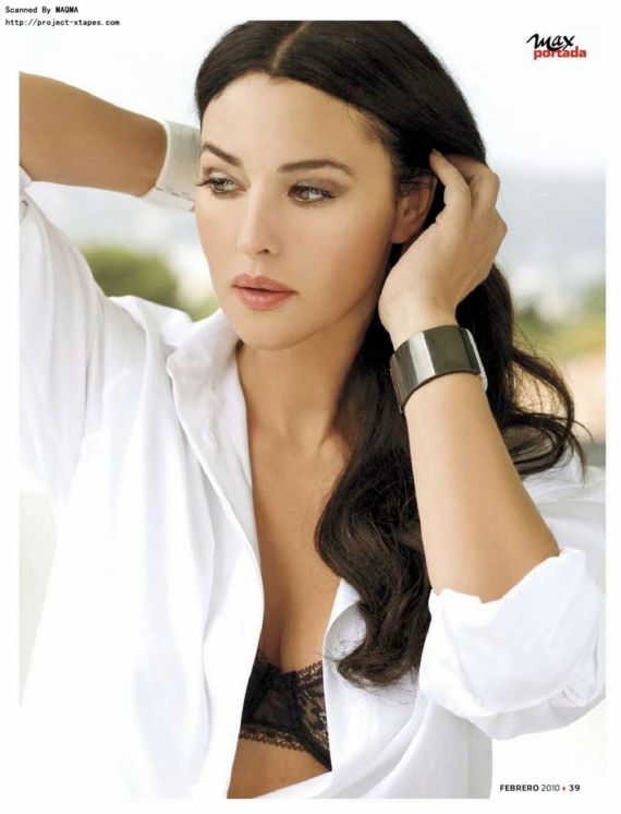 Monica Bellucci Graces Up Max