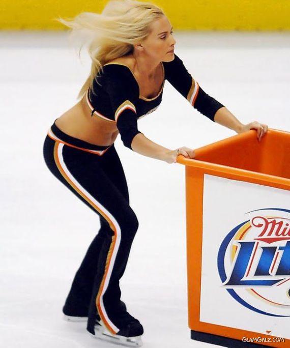 Pretty NHL Ice Crew Galz