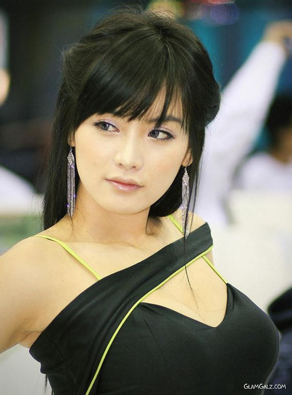 Korean Model And Race Queen Ji Hye