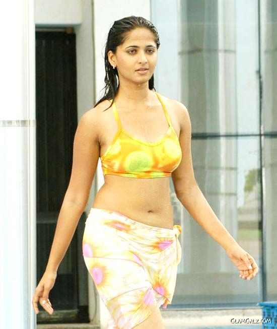 Actress Anushka Shetty Swimsuit Gallery