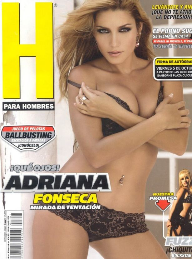 Adriana Fonseca Awesome Photoshoot