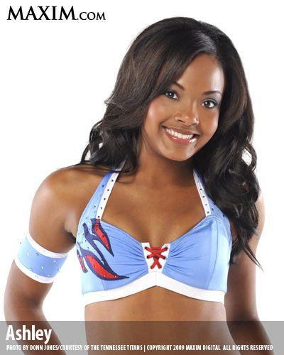 The Titans Cheerleaders on Maxim
