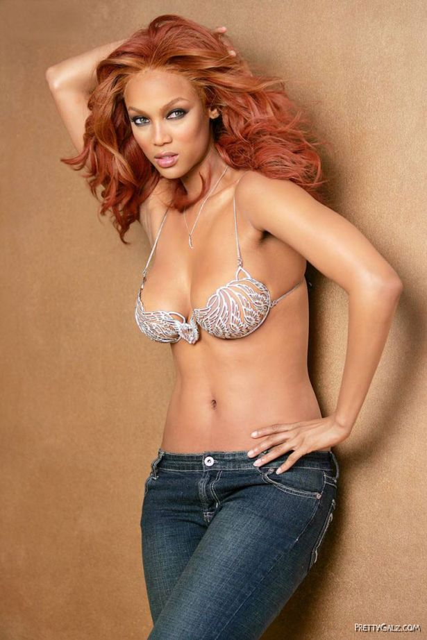 $10,000,000 Bra Photoshoot Tyra Banks