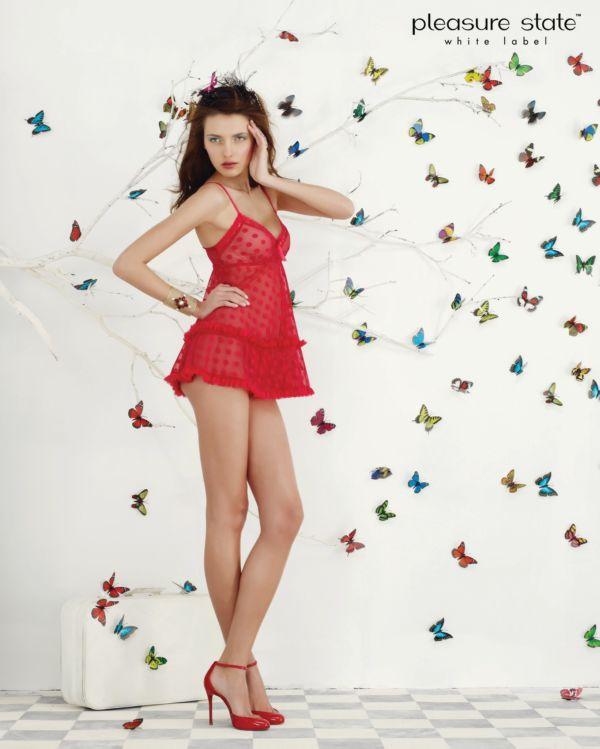 Ukrainian Fashion Model Alina Baikova