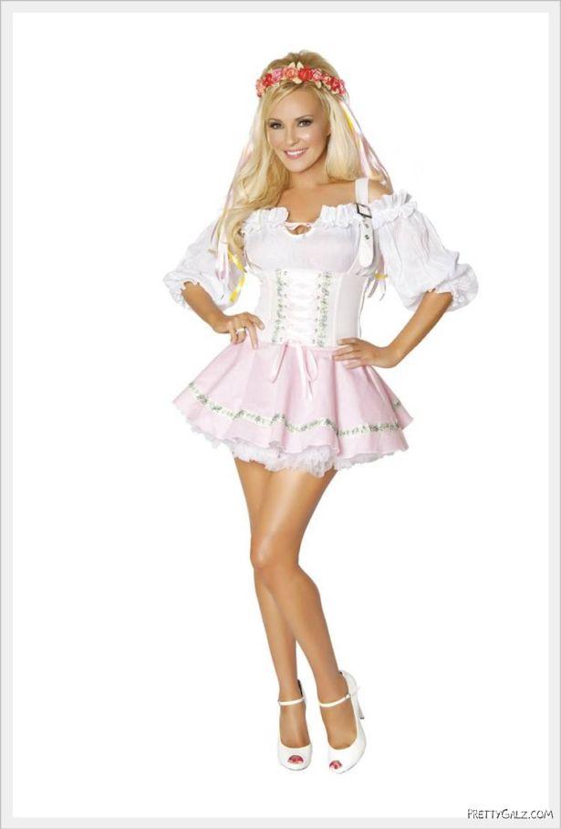 Perfect Bridget Marquardt in Various Costumes
