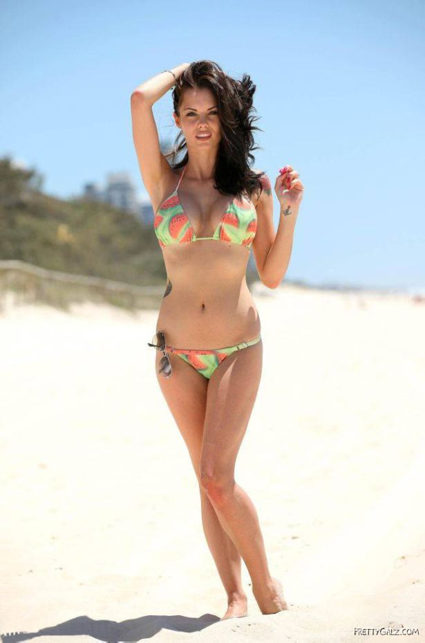 Jessica Jane Clement On The Beach
