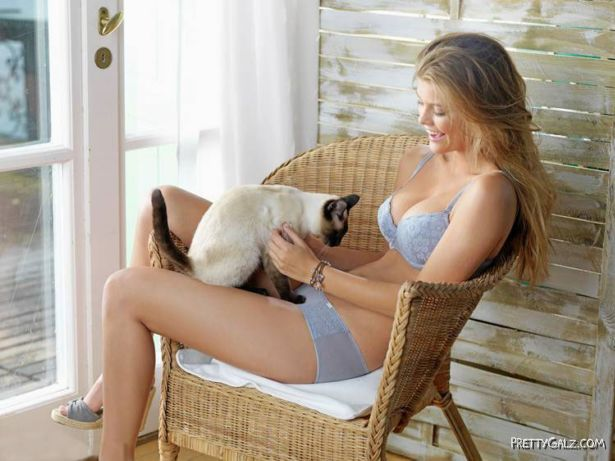 Nina Agdal For Triumph EcoChic Photoshoot