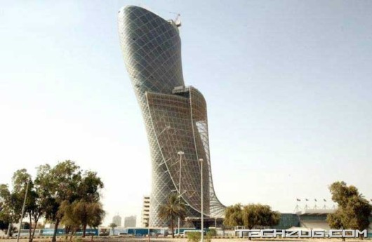 Abu Dhabi Capital Gate Building