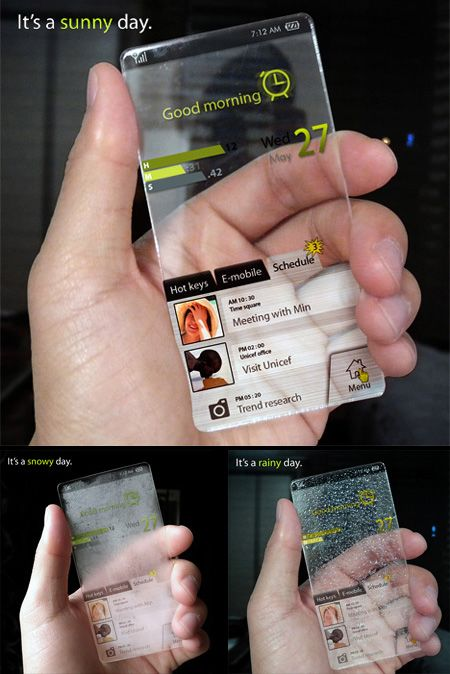 19 Futuristic And Creative Cell Phone Concepts'