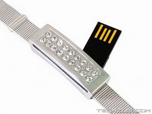 Ever Seen Diamond Flash Drives?
