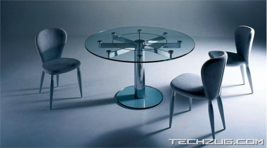 Glass Top Dining Tables For Cool Living