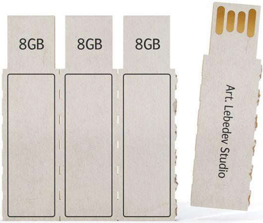 Amazing Paper USB Drive'