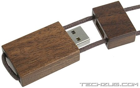USB Drives Made With Wood